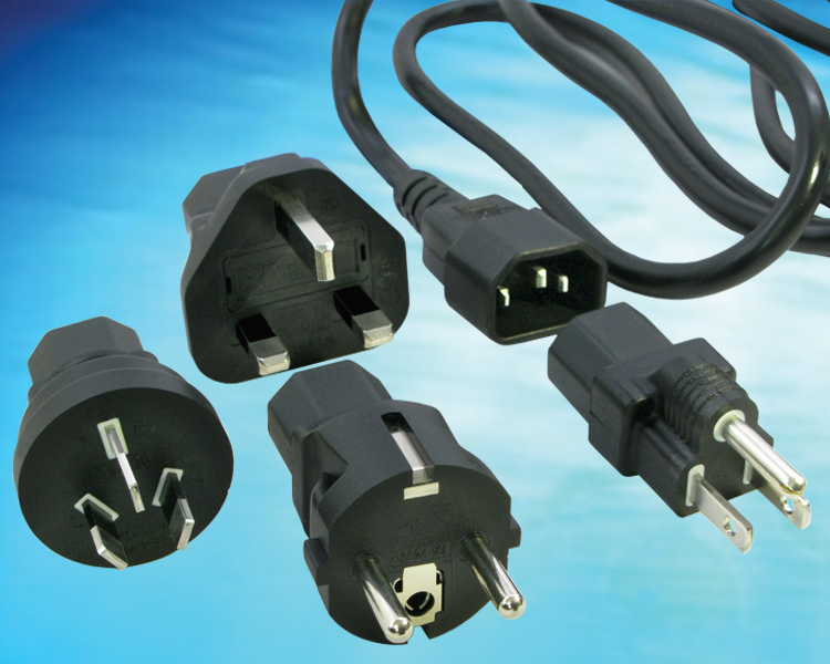 GlobTek's 705-701-KIT(R) offers a an opportunity for companies to consolidate their international power cords into a single item. The 705-701-KIT(R) offers a 2 meter combination SJT 18x3 and H05VVF 3x1.0mm2...