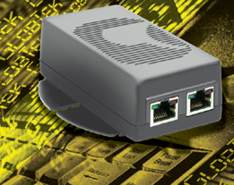 Injetor Ativo Power over Ethernet PoE de 48V